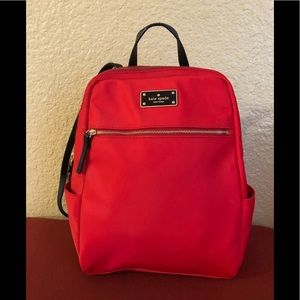 Kate Spade Red Backpack 🎒